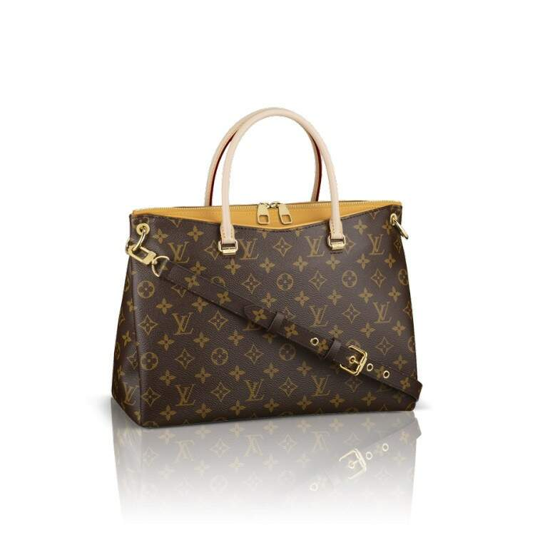 Bolsa Louis Vuitton Monogram Canvas Pallas