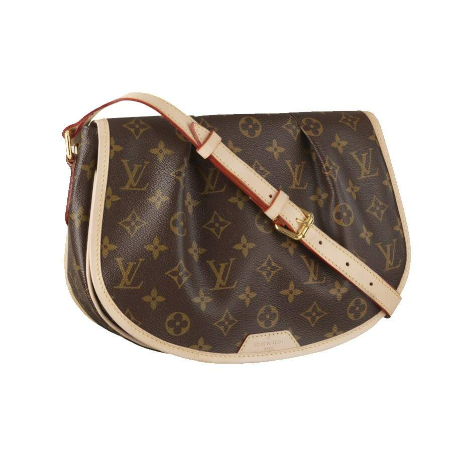 Bolsa Louis Vuitton Monogram Canvas Menilmontant MM - Premium