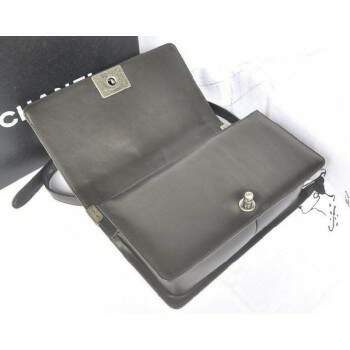 Bolsa Ch. Le Boy Black Lambskin Media