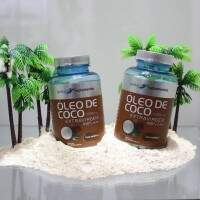 Global Nutrition - Óleo de Coco 1000mg - 120 cápsulas