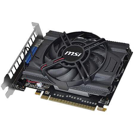 Placa de Vídeo GeForce N650GTX-MD1GD5/OC 1GB DRR5 128 bits - MSI