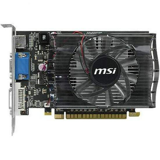 Placa de Vídeo GeForce N630GT-MD2GD3 2GB DDR3 128 bits - MSI