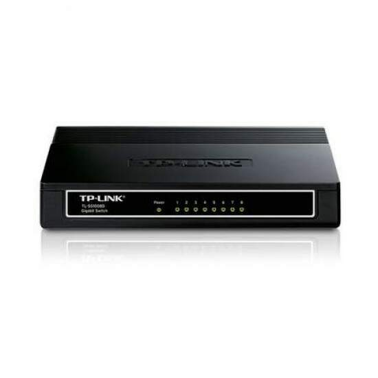 Switch TP-Link 8 Portas 10/100/1000 Gigabit TL-SG1008D