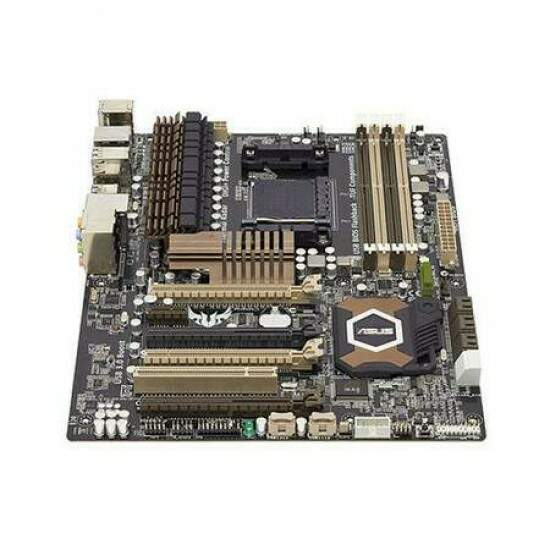 Placa Mãe ASUS p/ AMD SABERTOOTH 990FX R2.0 AM3+ TUF, UEFI Bios, ESD Guards