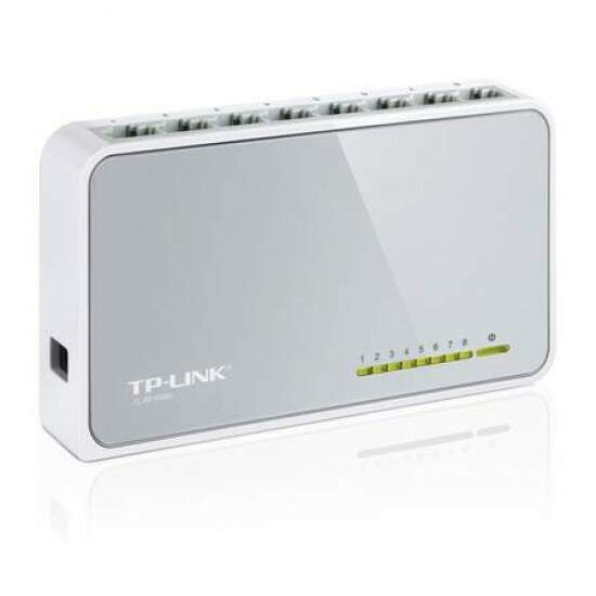 Switch TP-Link TL-SF1008D Desktop com 8p 10/100