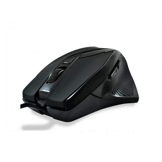 Mouse Gamer HardLine Preto 2400dpi USB MS26