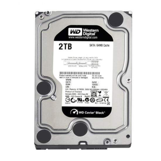 HD Western Digital 2TB WD Caviar Black 7200rpm WD2002FAEX