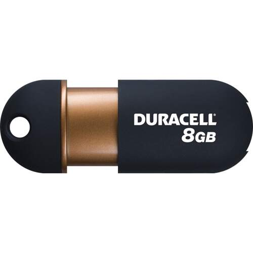 Pen Drive Duracell 8GB USB 2.0 Flash DU-ZP-08G-CA-N3-R