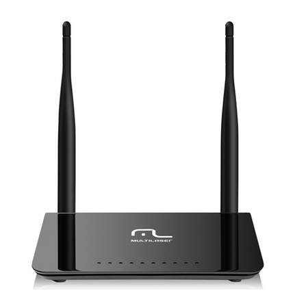 Roteador Multilaser Wireless Dual Band 300Mbps c/ 2 Antenas 5dBi - RE075