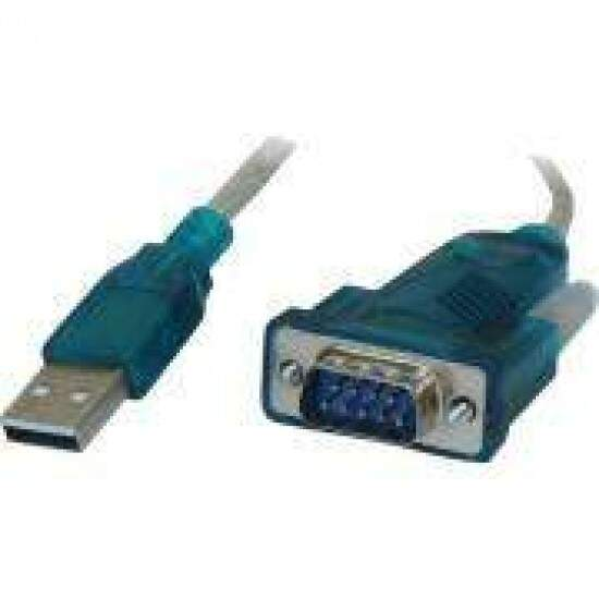 Cabo Conversor USB x Serial RS232 DB9M