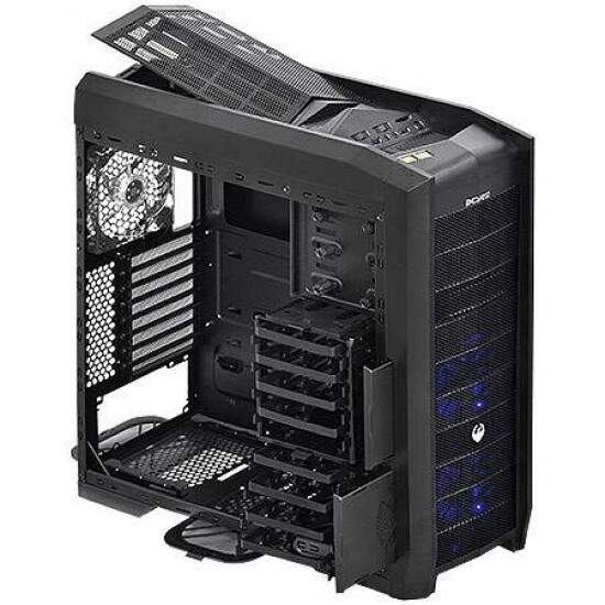 Gabinete Gamer Dragon s/ Fonte c/ Led Azul - PCYES