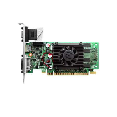 Placa de Vídeo PCI Express 8400GS DDR3 1GB EVGA PCI-E 01G-P3-1302-LR