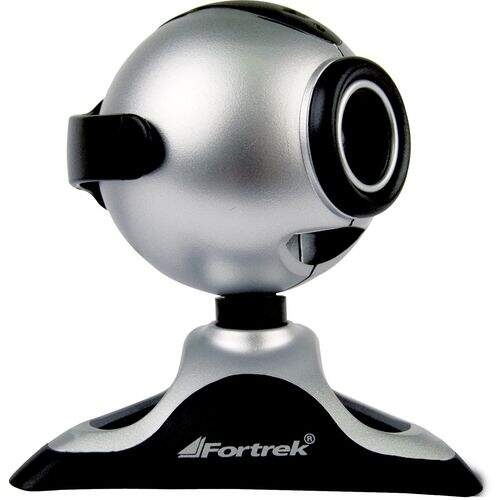 Webcam EasyCam Zoom! 1.3MP com Microfone FORTREK