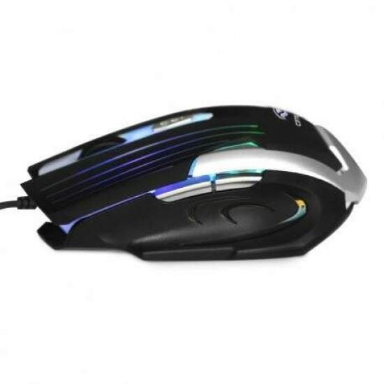 Mouse Gamer C3 Tech USB Preto e Prata MG-11