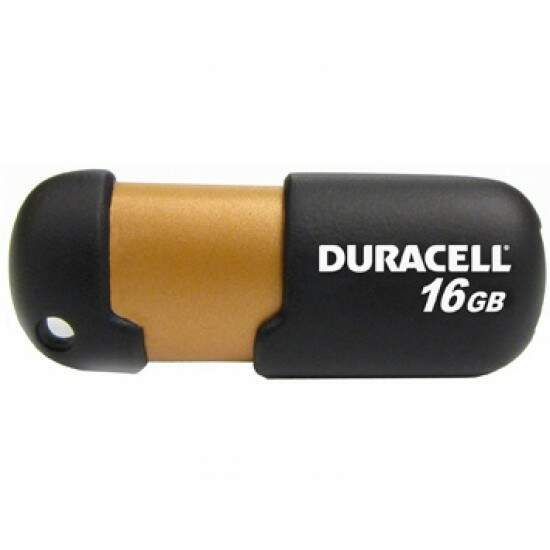 Pen Drive Duracell 16GB USB 2.0 Flash DU-ZP-16G-CA-N3-R
