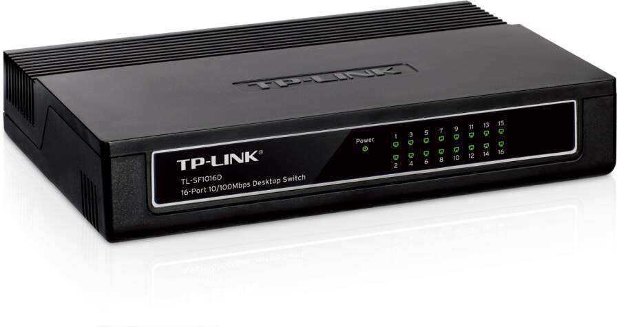 Switch TP-Link 16 Portas 10/100 Mbps TL-SF1016D