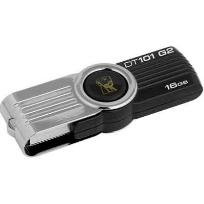 Pen Drive Kingston DT101G2 - 16GB Preto