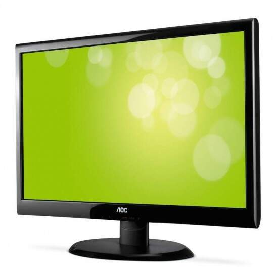 Monitor AOC 18.5 LED E950Sw Wide Slim Black Piano