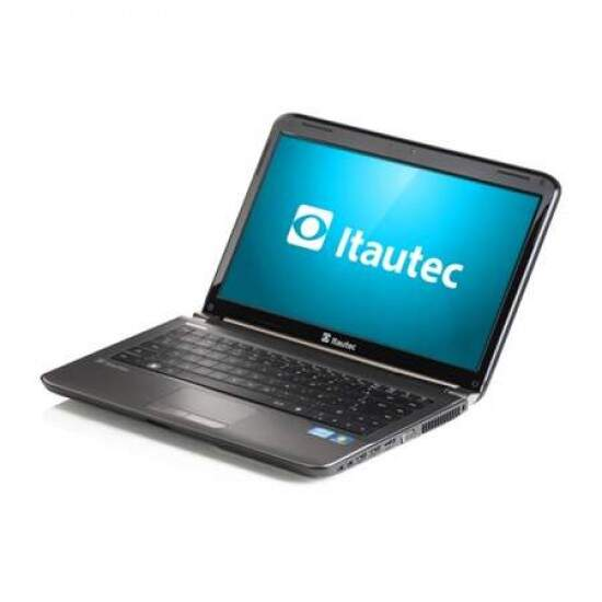 Notebook Itautec W7540-4898 Intel Celeron B815, 2GB, HD 320GB, DVD, Free DOS - LED 14´