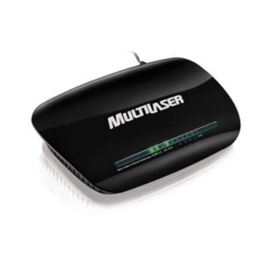 Roteador Multilaser Sem-fio Wireless N Lite 150Mbps RE024