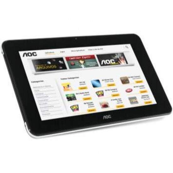 "Tablet AOC Breeze c/ Android 4.0, Tela 7\"" Touch, 8GB, Wi-Fi - MW0711"