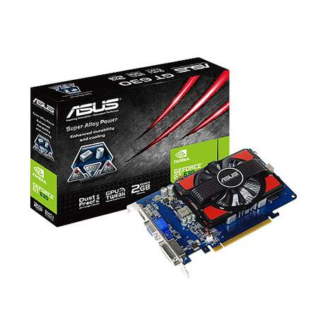 Placa de Vídeo ASUS GeForce GT 630 - 2GB, DDR3, 128Bit - GT630-2GD3