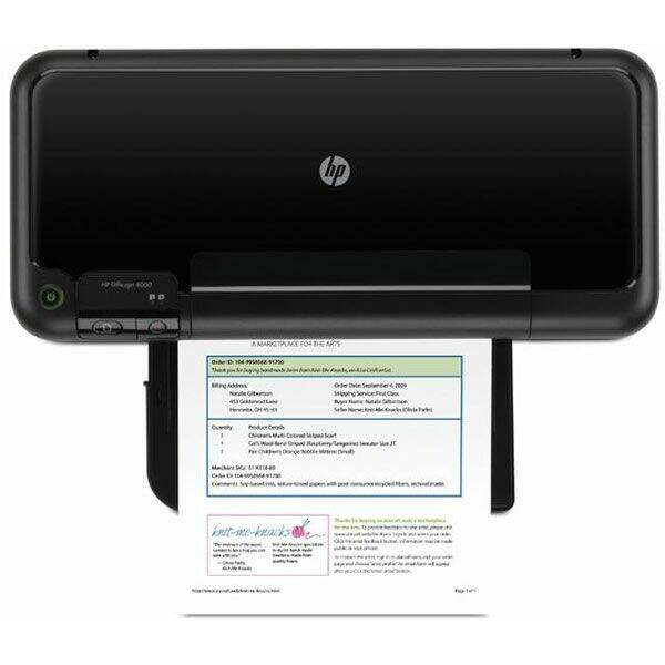 Impressora HP Officejet 4000 - 7T - CQ780A