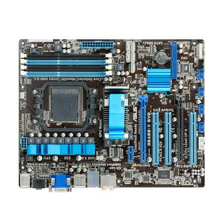 Placa Mãe ASUS p/ AMD M5A88-V EVO AM3 Box, c/ Core Unlocker, GPU Boost, HDMI, SATA 6GB