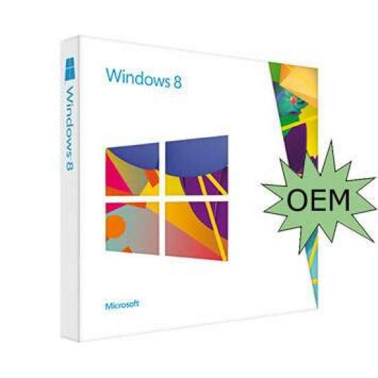 Sistema Operacional Windows 8 SL 32Bits Brazilian OEM - 4HR-00047