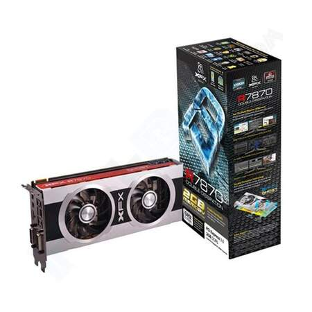 Placa de Vídeo XFX AMD Radeon Double D HD7870 2048MB (2GB) DDR5 FX-787A-CDFC