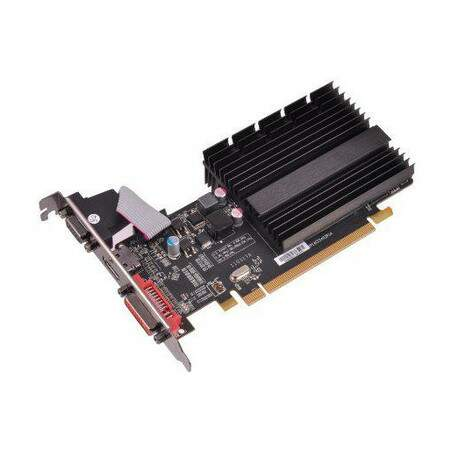 Placa de Vídeo XFX Radeon HD6450 1GB DDR3 625M PCI-Express HD-645X-ZQH2