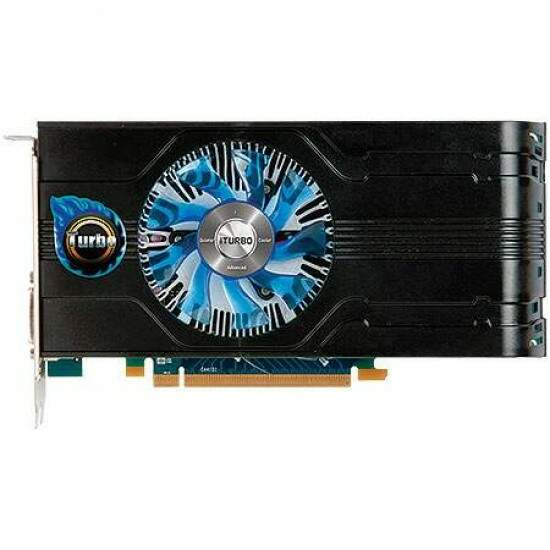 Placa de Vídeo HIS AMD ATI Radeon Fan Turbo HD7750 1GB DDR5 128-Bit H775FT1G2M