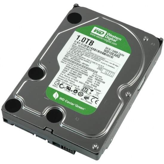 HD Western Digital SATA 1TB 64MB c/ IntelliPower Caviar Green - WD10EARS