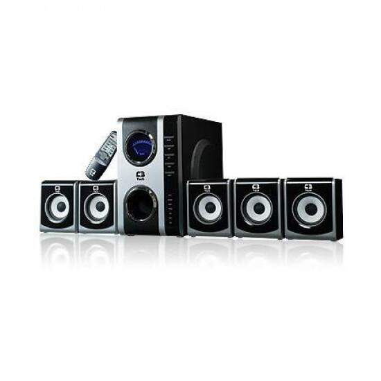 Home Theater 5.1 C3 Tech B511-ME 65W RMS Preto/Prata