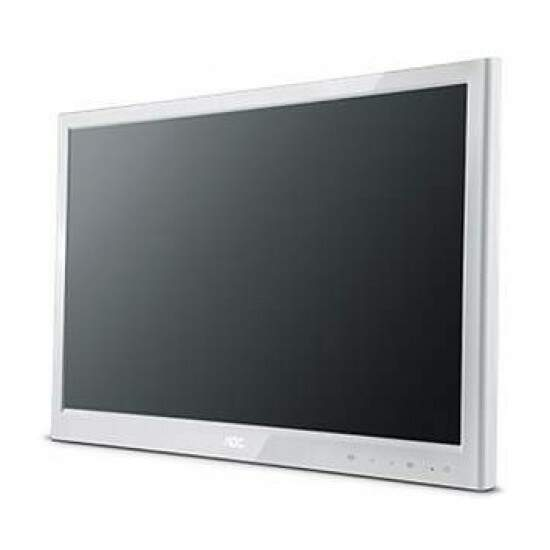 Monitor AOC LED 23 Polegadas E2351Fh/ww Full HD Branco