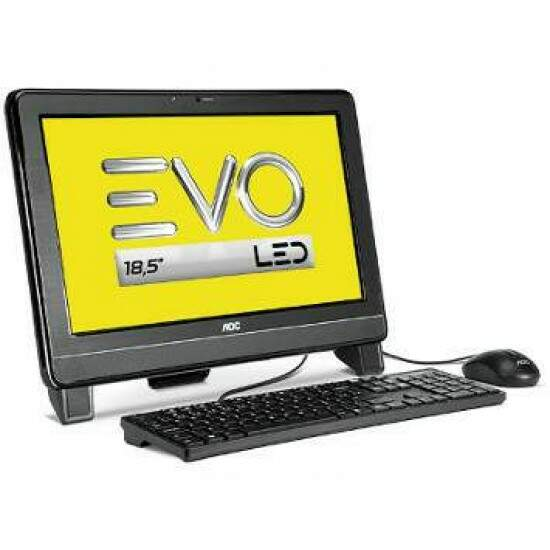 Computador AOC All In One EVO AMD E1-1200, 2GB, HD 500GB, Tela 18.5 - 9525U-LX