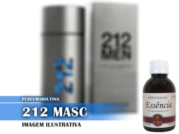 Essência 212 Masc 100Gr (Carolina Herrera 212 Men