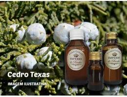 Óleo Essencial Cedro Texas - 10ml - (Juniperus mexicana woodoil)
