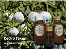 Óleo Essencial Cedro Texas - 100ml - (Juniperus mexicana woodoil)