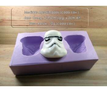 Forma de Silicone Star Wars Trooper 3-Cav S-1009