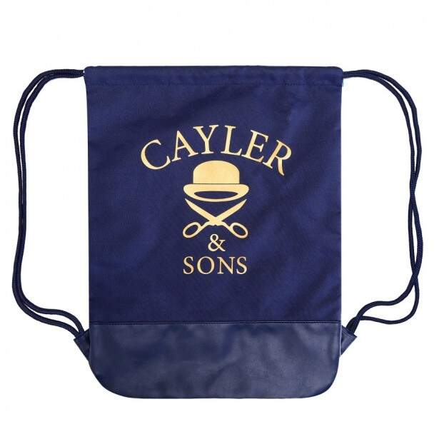 Mochila Cayler And Sons United Branca / Azul