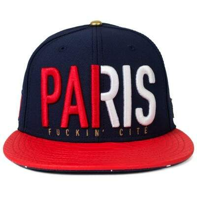Boné Cayler And Sons Snapback Paris Aba Couro