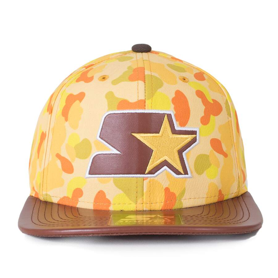 Boné Starter Black Label Strapback Camo Color Amarelo