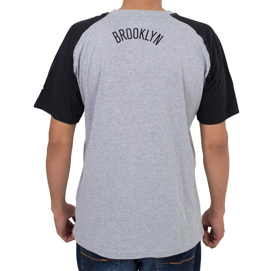 Camiseta New Era Brooklyn Nets Mescla