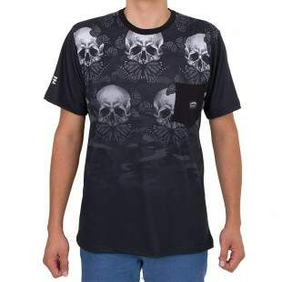 Camiseta Chronic Skull Preto