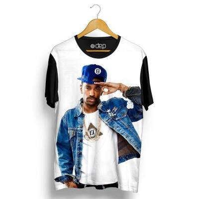 Camiseta Dep Big Sean Cap Branca