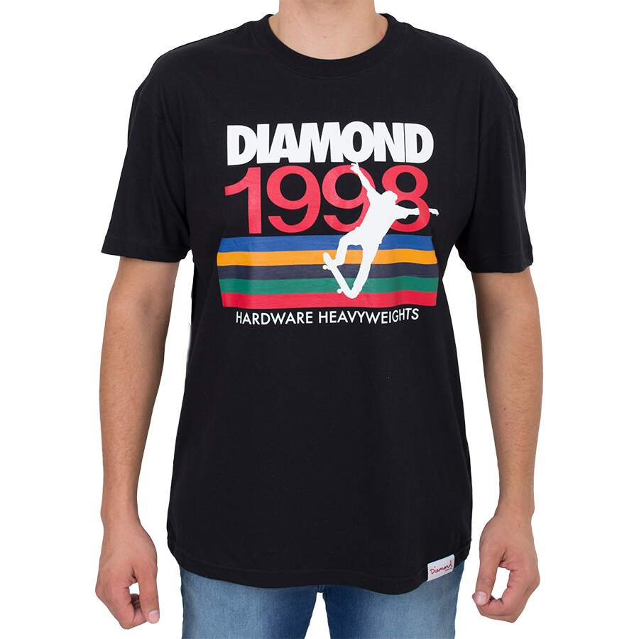 Camiseta Diamond Nineties Preta