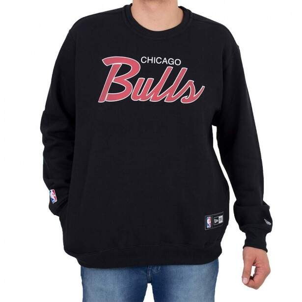 Moletom New Era Chicago Bulls Preto