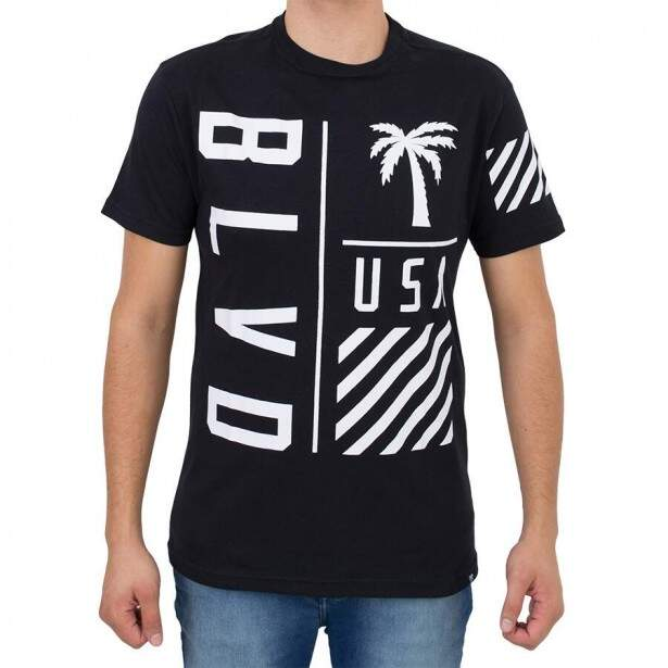 Camiseta Blvd On Point Tee Preta Original