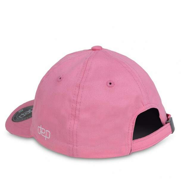 Boné Dep Strapback Light Dad Hat Aba Curva Rosa